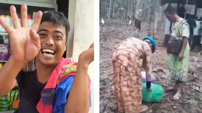 VIRAL Akibat Kekurangan Baju, Pria Korban Banjir Kalsel Ini Terpaksa Memakai Pakaian Wanita 4 Hari