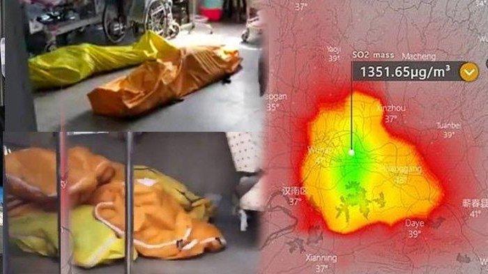 Dilihat dari Satelit, Wuhan Kota Pusat Virus Corona Tampak Menyala, Ilmuwan: Akibat Kremasi Mayat