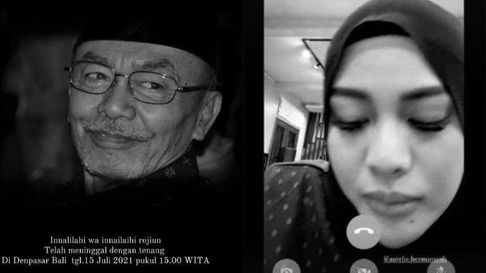 Aurel Hermansyah Tertunduk Lesu & Sembab saat Sang Kakek Meninggal, Krisdayanti Sampaikan Pesan Ini