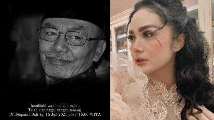 KABAR DUKA, Ayah Krisdayanti & Yuni Shara Meninggal, Ibunda Aurel: Maafin Aku Gak Nemenin Papa Pergi