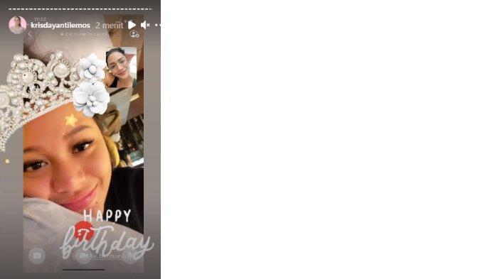 Krisdayanti berikan ucapan selamat ulang tahun untuk Aurel Hermansyah.