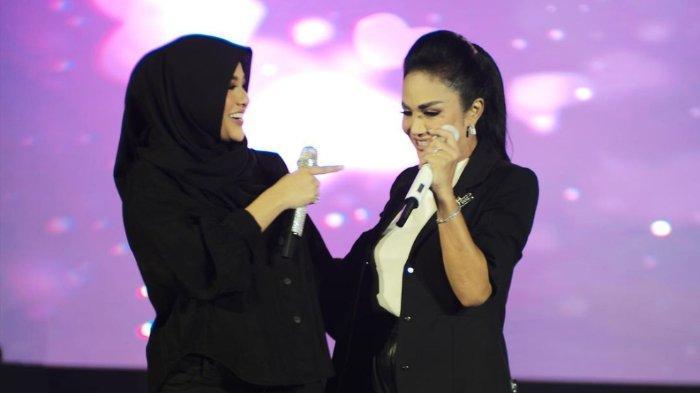 Krisdayanti ungkap keinginan setelah sukses duet bareng Aurel Hermansyah