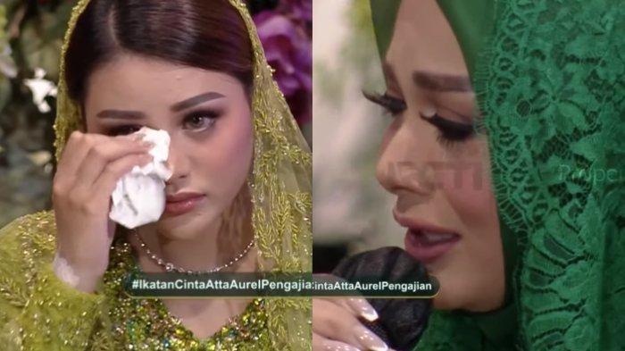 Krisdayanti menangis ucap pesan untuk Aurel Hermansyah di momen pengajian