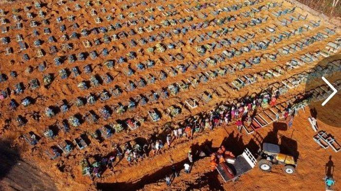 UPDATE Corona Dunia 27 Mei: 80 Ribu Kasus Baru, Amerika Luluh Lantak Korban Tewas Tembus 100 Ribu