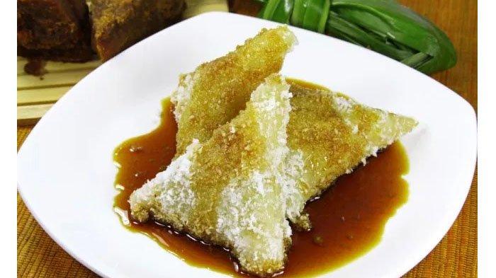 4 RESEP Jajanan Pasar yang Mudah Dimasak di Rumah: Gandos, Nagasari, Kue Cucur Gula Merah