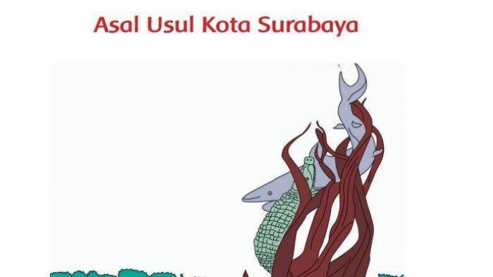 KUNCI JAWABAN Tema 7 Kelas 2 SD Buku Tematik Subtema 4 Halaman 170 171 172, Asal Usul Kota Surabaya