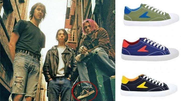 Terungkap! Kurt Cobain Ternyata juga Pakai Sepatu BATA, Lihat Gayanya!
