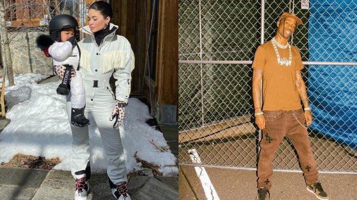 Kylie Jenner dan Travis Scott Tampak Habiskan Libur Natal Bersama, Balikan?