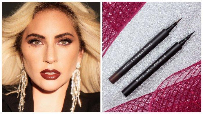 Penyanyi Lady Gaga Rilis Eyeliner Stiker di Brand Makeup Terbarunya, Intip Cara Pakainya