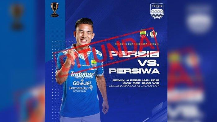 Jadwal Persib Bandung Vs Persiwa Wamena Piala Indonesia Resmi Dirilis, Kasuari Hijau Protes Keras