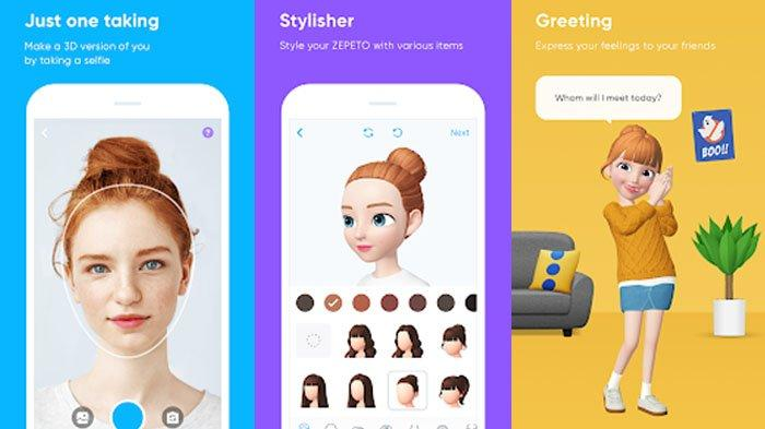 Lagi Hits Aplikasi Zepeto, Ini Cara Bikin Avatar Mirip Wajah Sendiri Bisa Share ke Instagram & WA