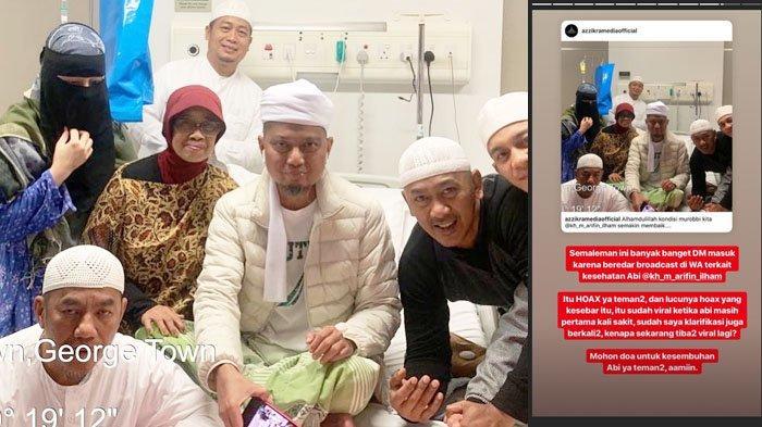 Sebelum Kritis, Ustaz Arifin Ilham Sempat Buat Wasiat, Bahas Kain Kafan hingga Prosesi Pemakaman