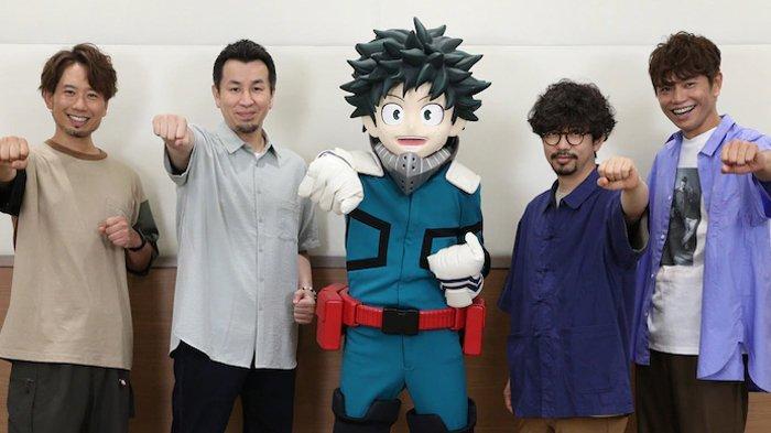 Lirik 'Empathy' Asian Kung-Fu Generation, Lagu Tema Anime 'My Hero Academia: World Heroes Mission