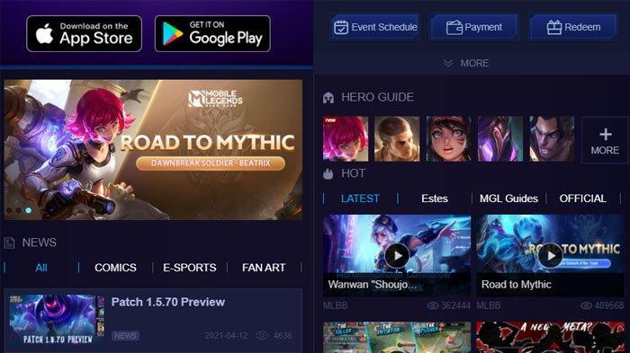 Kode Redeem Mobile Legends, Kamis 15 April 2021, Ada Aneka Hadiah, Double EXP hingga Skin Gratis