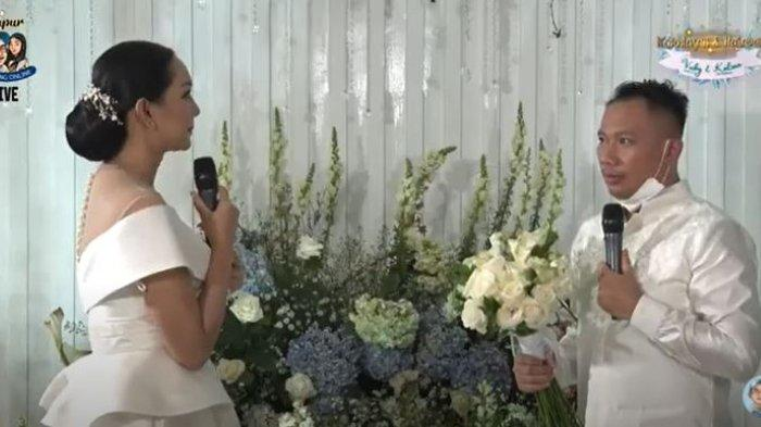 Lamaran Vicky Prasetyo dan Kalina Ocktaranny