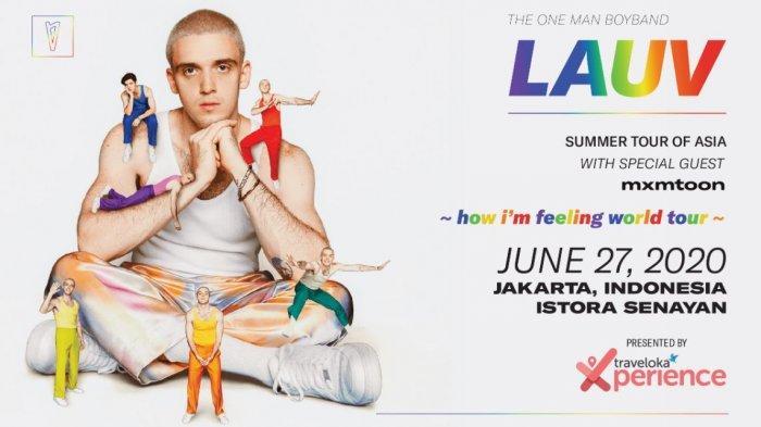 LAUV akan Menggelar Konser di Jakarta Juni 2020 Mendatang Dalam Tur 'How I'm Feeling World Tour'