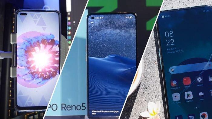 Perbedaan OPPO Reno4, Reno5 dan Reno6, Perhatikan dari Kamera, Warna dan Layar Depan