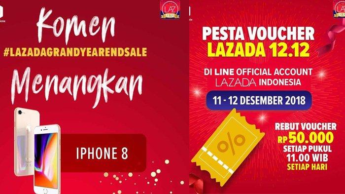 Harbolnas 12 12 Lazada Bagi Bagi Iphone 8 Gratis Hingga Flash Sale Samsung Galaxy Note 8 Tribunstyle Com