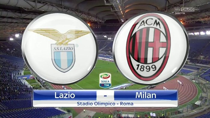 Live Streaming Lazio VS AC Milan 10 September 2017 - Big Match Liga Italia Pekan Ke-3