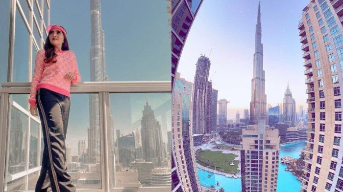 Keseruan Ashanty & Anang Lebaran di Dubai, Nginap di Hotel Mewah & Lihat Pemandangan Dubai Fountain