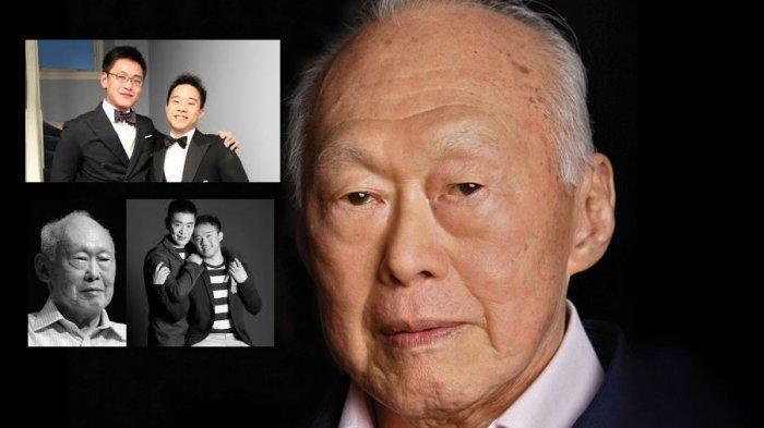Foto-foto Kontroversi Pernikahan Sesama Jenis Li Huanwu, Cucu Pendiri Singapura Lee Kuan Yew