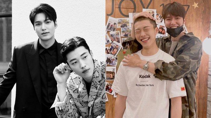 Sukses Bintangi Drama The King: Eternal Monarch, Ini 7 Potret Keakraban Lee Min Ho & Woo Do Hwan