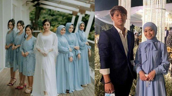 5 Pesona Lesti Kejora Jadi Bridesmaid Pernikahan Ali Syakieb & Margin, Ajak Kondangan Rizky Billar
