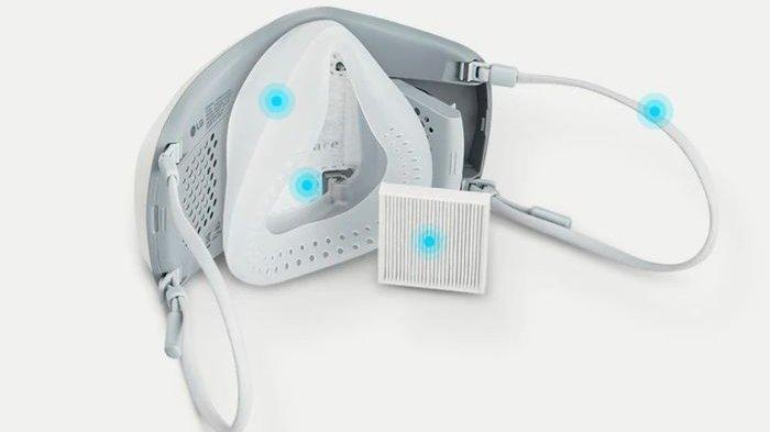 LG PuriCare Wearbale Air Purifier (AP552AWFA).
