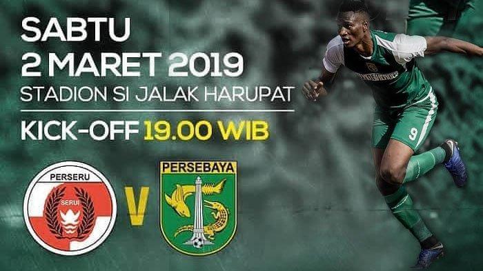 Link Live Streaming Indosiar Perseru Serui vs Persebaya Surabaya Piala Presiden 2019 Malam Ini