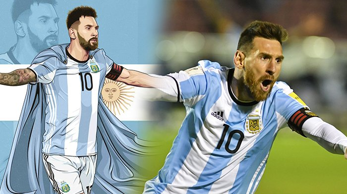 Hasil Akhir Ekuador Vs Argentina - 3 Gol Terindah Messi, Cuplikan Videonya Cek di Sini!