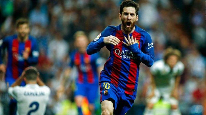 Lionel Messi, pemain yang hengkang dari Barcelona setelah membela klub selama 17 tahun.