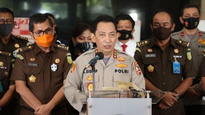 Komjen Listyo Sigit Prabowo, calon tunggal Kapolri pilihan Presiden Jokowi