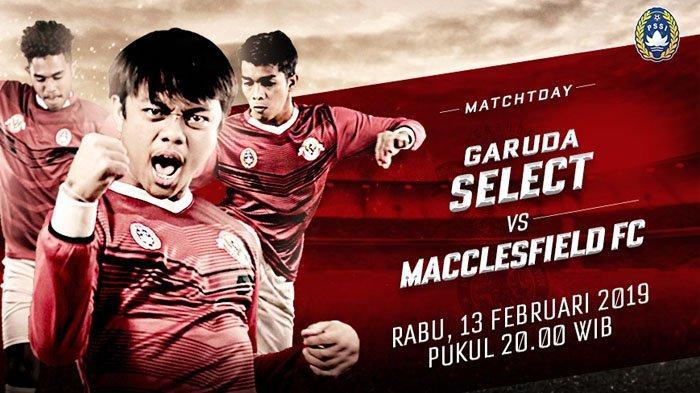 Live Streaming SuperSoccer TV Garuda Select vs Macclesfield FC U17 Malam Ini Live dari Birmingham
