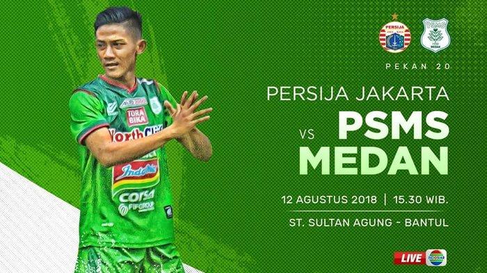 Live Streaming Indosiar Persija vs PSMS Medan - Siaran ...