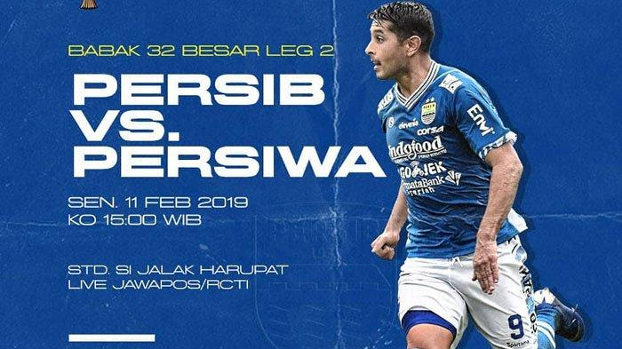 SEDANG BERLANGSUNG! Persib vs Persiwa Live Streaming Jawapos TV & iNews TV Piala Indonesia 2018 Now!