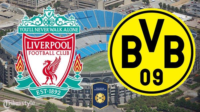 Live Streaming Liverpool vs Borussia Dortmund - International Champions Cup 2018 di TVRI