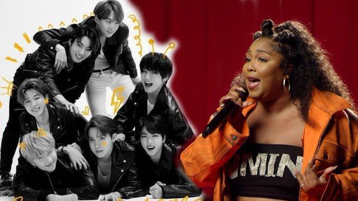 Lizzo Bawakan Lagu BTS 'Butter' di Live Lounge BBC Radio 1, Pakaian Jadi Bukti Status ARMY-nya
