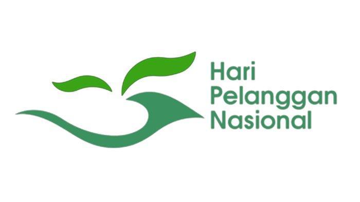 Logo Hari Pelanggan Nasional.