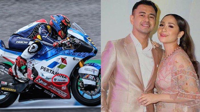 Logo RANS Tampil di Laga Moto2 Eropa, Raffi Ahmad & Nagita Slavina Panen Pujian