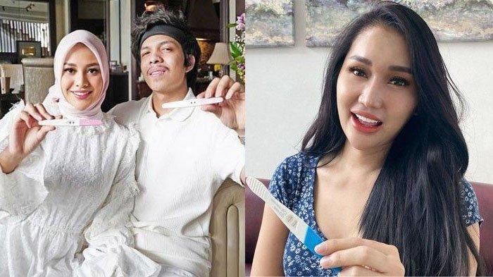 Aurel Hermansyah Hamil Anak Pertama, <a href='https://manado.tribunnews.com/tag/lucinta-luna' title='LucintaLuna'>LucintaLuna</a> Goda Menantu Ashanty: Atta Nanti Kita Besanan Ya