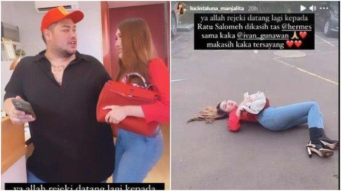 Lucinta Luna Terkapar di Aspal Diberi Tas Hermes Rp 50 Juta dari Ivan Gunawan, 'Banyak yang Sayang'