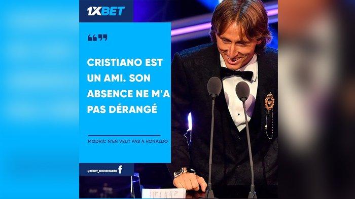 Komentar Luka Modric Soal Tak Hadirnya Cristiano Ronaldo di The Best FIFA Football Awards 2018