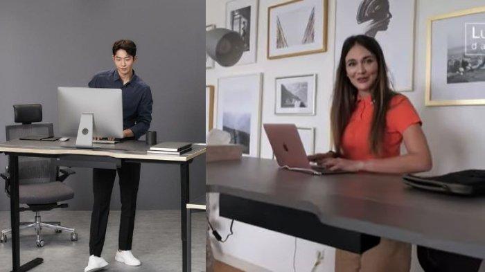 Penggemar Drakor Start-Up, Luna Maya Sampai Beli Meja Kerja Canggih Milik Nam Do San di Drama