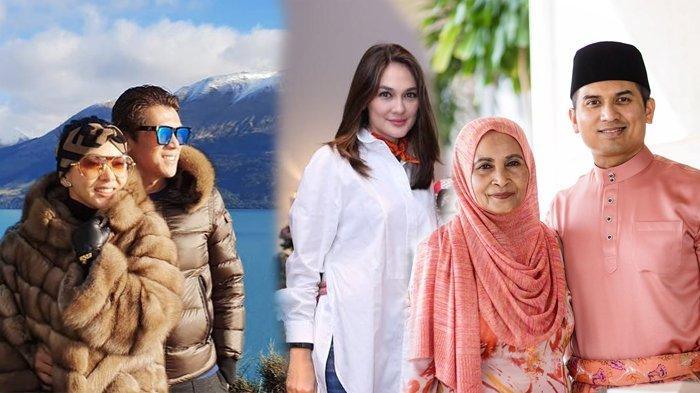 Syahrini & Reino Barack Mesra Bulan Madu, Luna Maya Kepergok Liburan Bareng Ibunda Faisal Nasimuddin