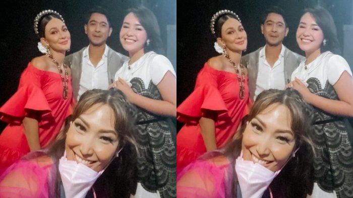 EFEK 'Demam' Ikatan Cinta, Luna Maya Semringah Akhirnya Ketemu Langsung Arya Saloka & Amanda Manopo