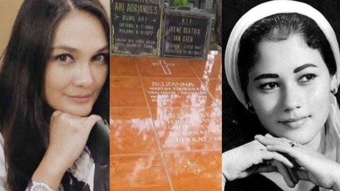 10 Tahun Suzanna Meninggal, Luna Maya Ungkap Kondisi Kuburannya, Ada Pesan Khusus Tertulis di Makam