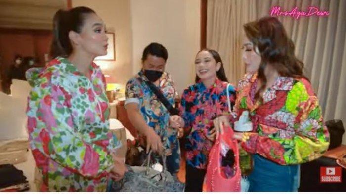 Ayu Dewi & Luna Maya Bingung Nagita Slavina Pakai Tas Branded Puluhan Juta Jadi Tempat Sepatu