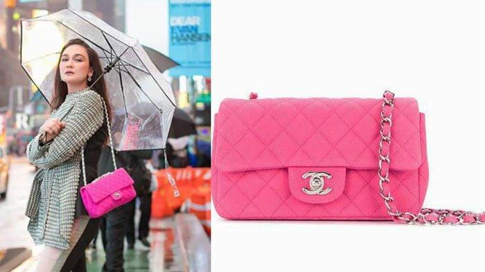 Inilah 5 Koleksi Tas Warna Pink Milik Luna Maya yang Beragam Model serta Berharga Fantastis