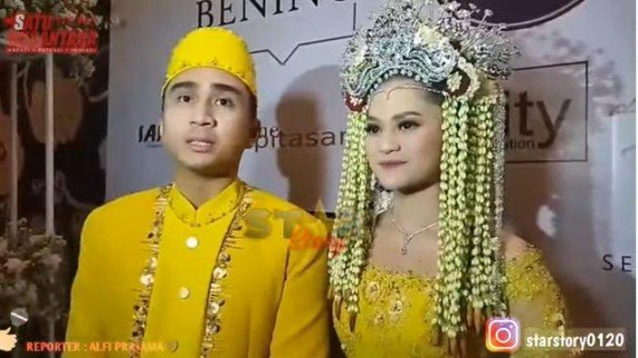 Lutfi Agizal dan Nadya Indri resmi menikah.