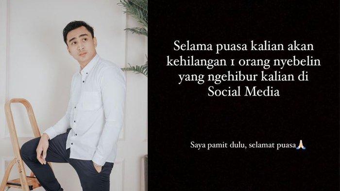 Lutfi Agizal 'Pamit' dari Sosial Media, Sebut Bukan Demi Konten, Malah Dapat Nyinyiran Begini